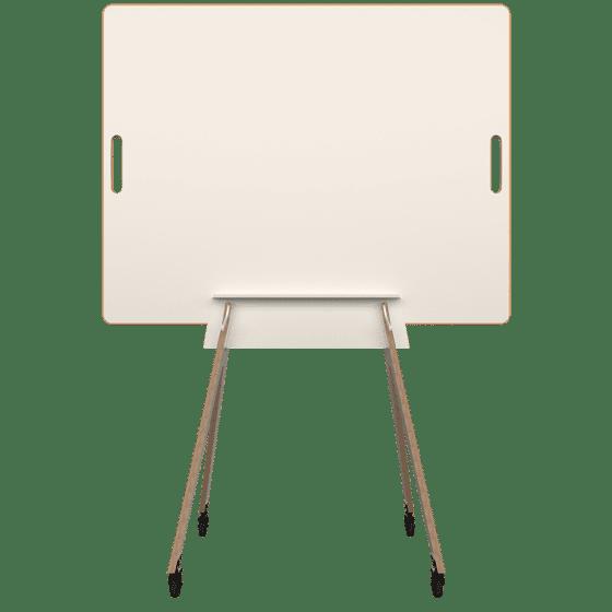 Agiles Whiteboard WildBoard im Gestell von vorn