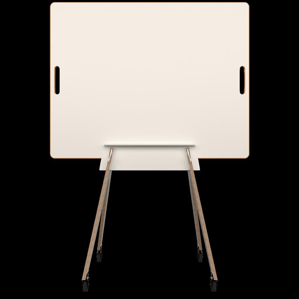 Agiles Whiteboard WildBoard von der Seite