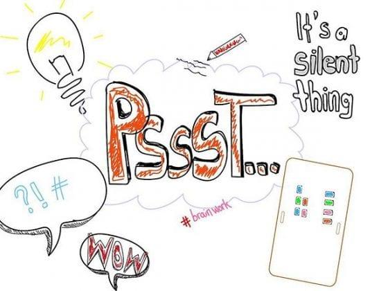 Silent Brainstorming Illustration
