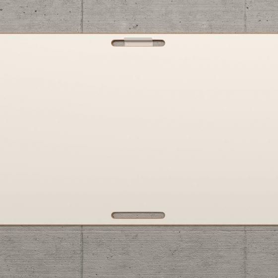 Das BigBoard kann auch flexibel an die Wand gehängt werden.