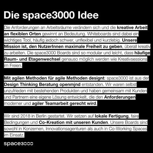 Die space3000 Idee