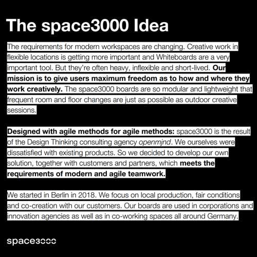 The space3000 idea