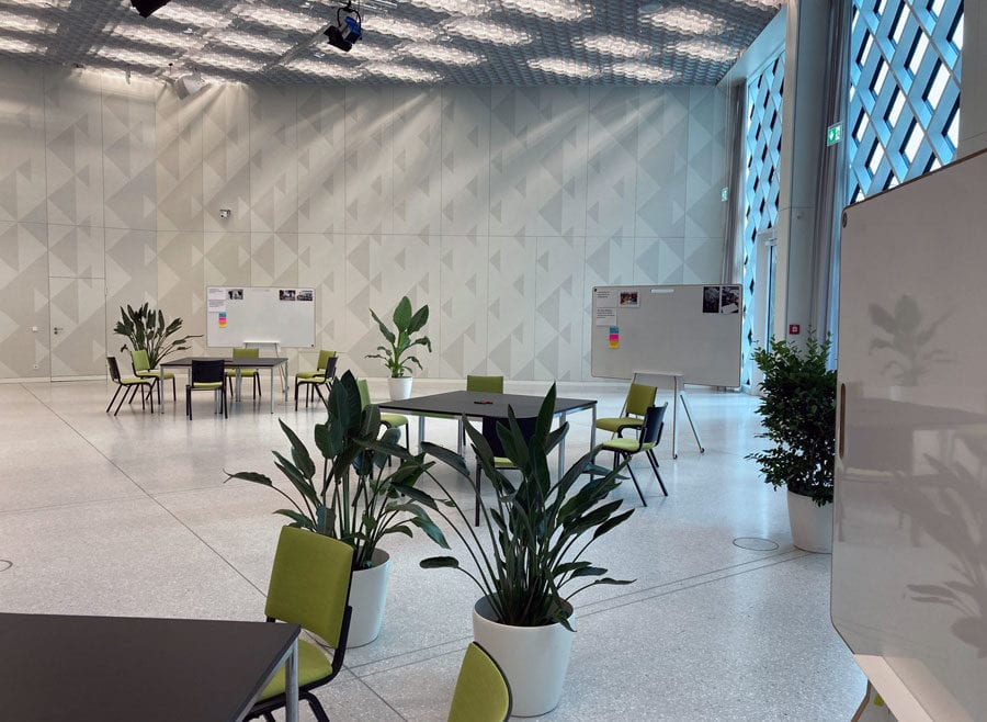 Miet Whiteboards im Futurium Berlin