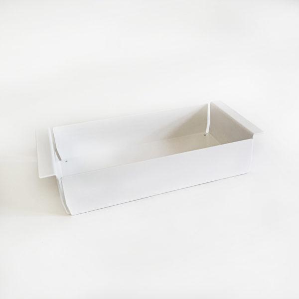 Weiß gepulverte Ablagebox für Whiteboard Stifte