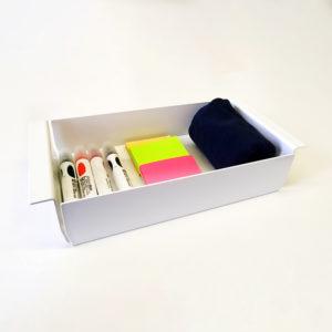 Box für Whiteboard Zubehör